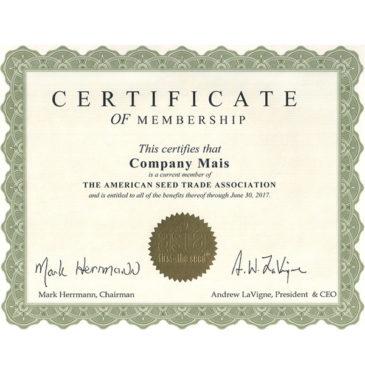 Компания МАИС продлила членство в Американской ассоциации производителей семян (ASTA)