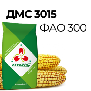 ДМС 3015 (ФАО 300) Середньостиглий гібрид кукурудзи