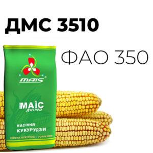 Среднеспелый гибрид кукурузы ДМС 3510 (ФАО 350)