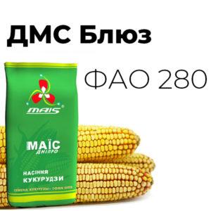 ДМС Блюз (ФАО 280) Середньоранній гібрид кукурудзи