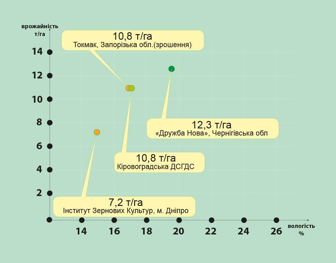 ДМС Гроно (ФАО 260) Середньоранній гібрид кукурудзи